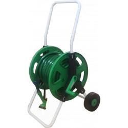 Hole Reel / Gulungan Selang + Selang Benang Pakai Roda